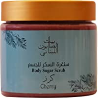 Bayt Al Saboun Body Sugar Scrub Cherry 500 G, Pack Of 1
