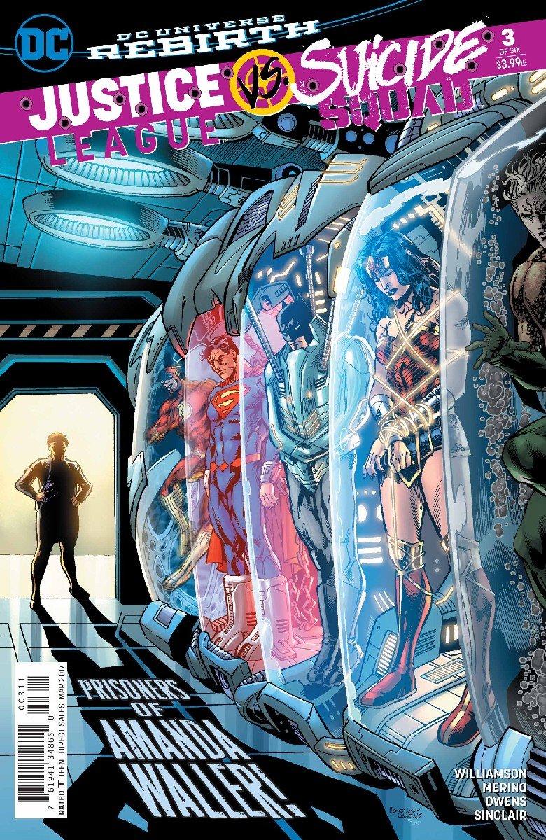 Download DC Universe Rebirth Justice League vs Suicide Squad #3 (2016) 1st Printing pdf epub