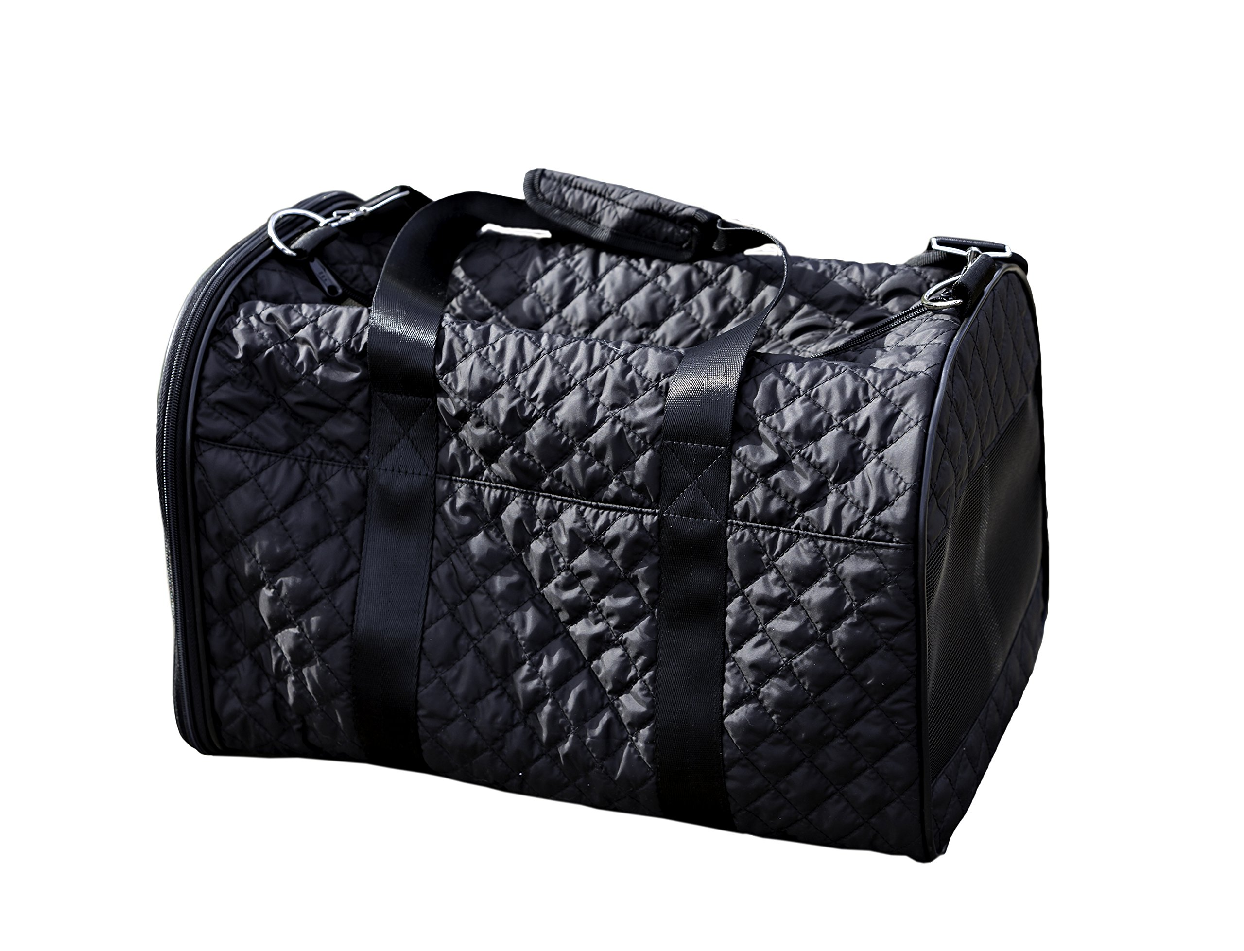 Multipet Pet Voyage Metropolitan Quilted Pet Carrier, 18'' by Multipet