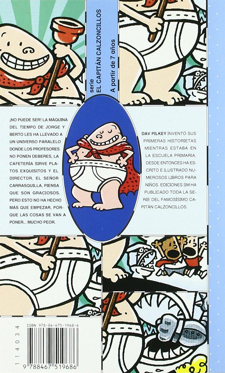 El Capitán Calzoncillos y la dramática aventura de los engendros del inodoro malva Barco de Vapor Azul: Amazon.es: Dav Pilkey, Miguel Azaola: Libros