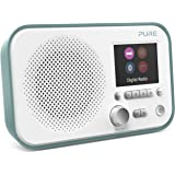 Pure Elan BT3 Portable Digital DAB/DAB+/FM Radio with Bluetooth - Alarm - Colour Screen - Battery / Mains Powered - Mint