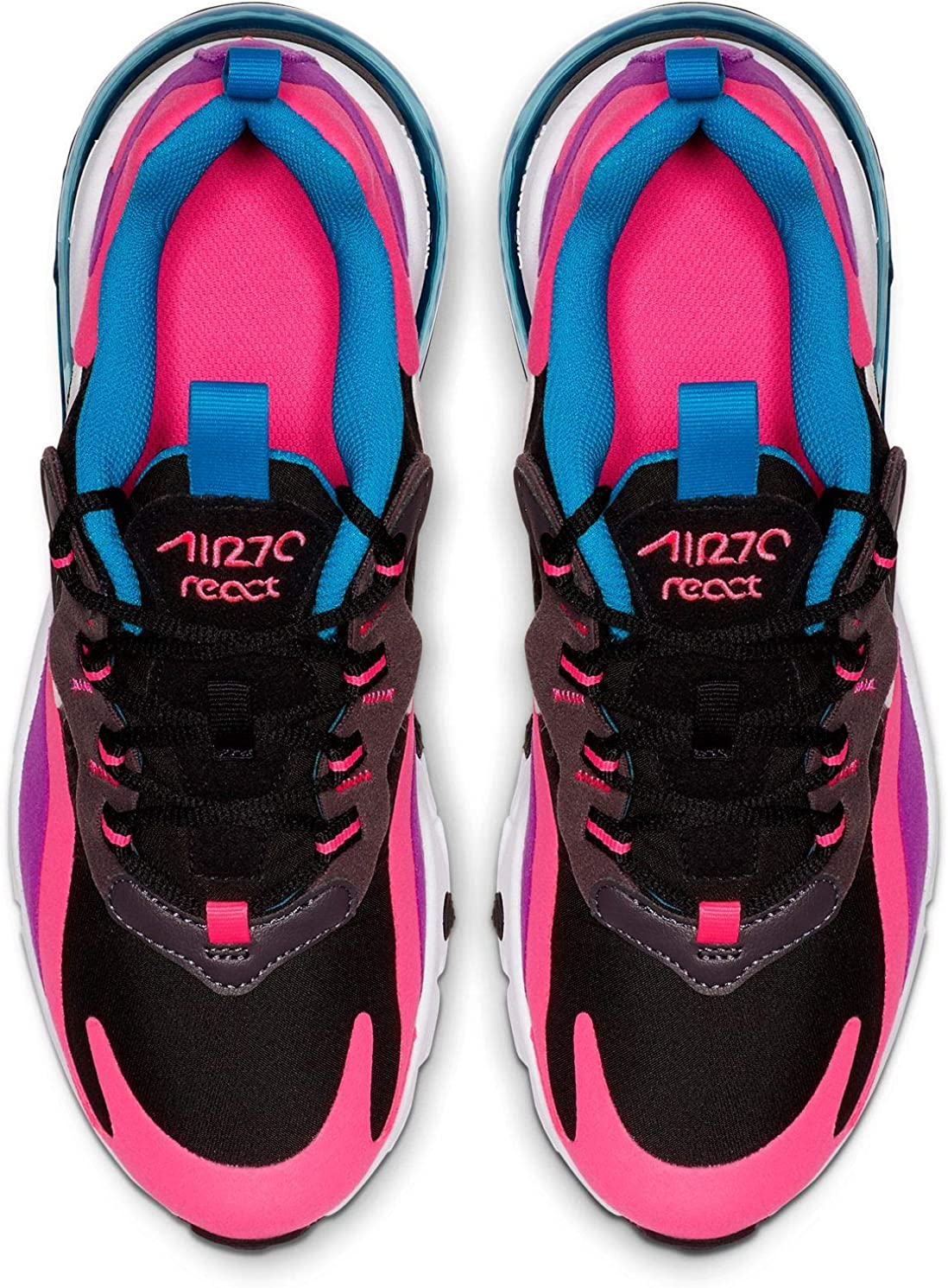 Max React 001 Junior Bq0101 Nike Air Noir 270 redCBxo