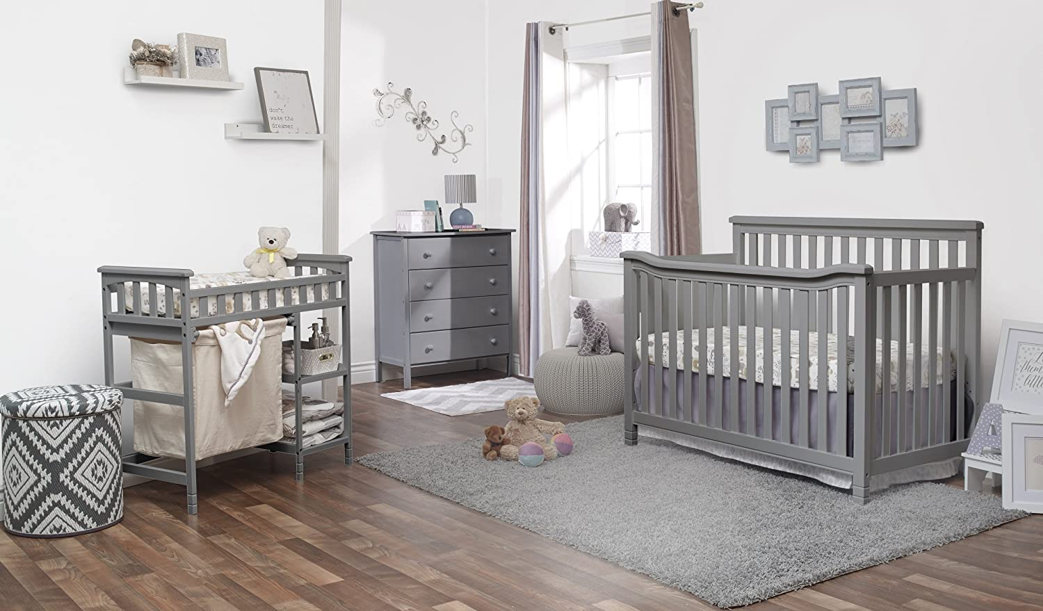 Sorelle Palisades Room in A Box, Gray 1035-GR