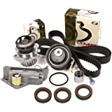 Evergreen TBK306BHWPT 01-06 Audi TT Volkswagen Jetta 1.8L TURBO Timing Belt Kit Water