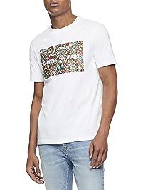 38b2d20a Calvin Klein Men's Short Sleeve Monogram Logo T-Shirt