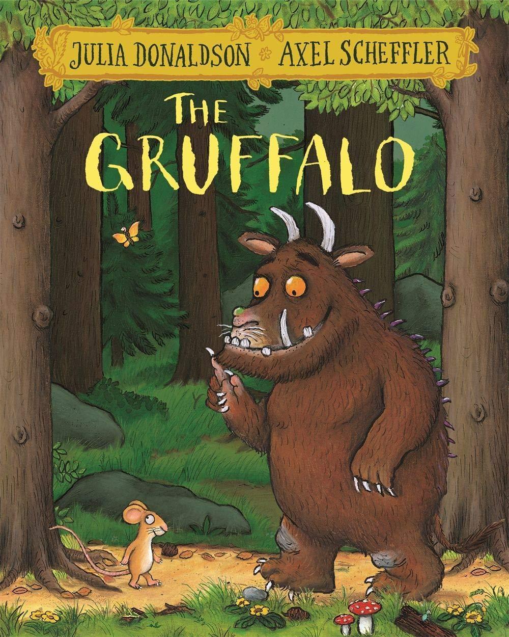The Gruffalo: Donaldson, Julia, Scheffler, Axel: 9781509804757 ...