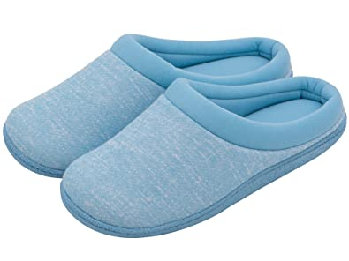 6b5b8978e0f5 Women s Comfort Slip On Memory Foam French Terry Lining Indoor Clog House  Slippers (Women 11