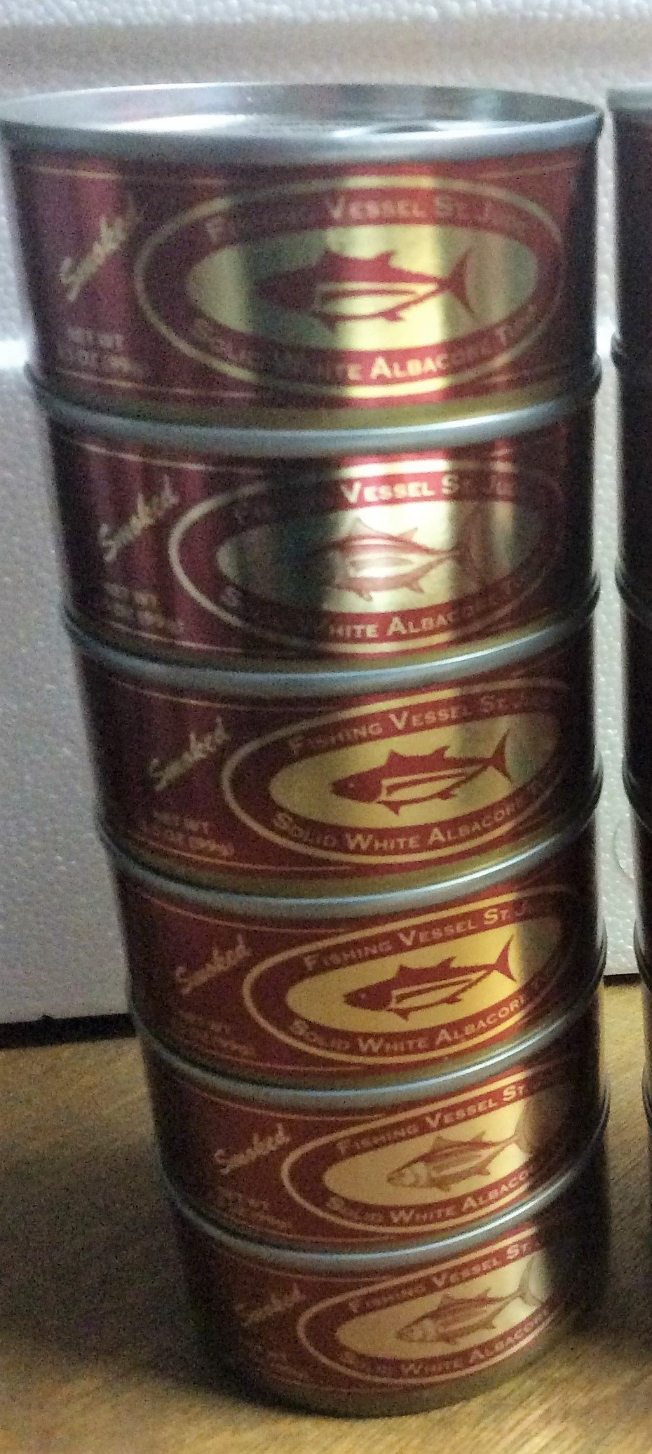 St. Jude Smoked Canned Tuna (6 cans) 6 oz.