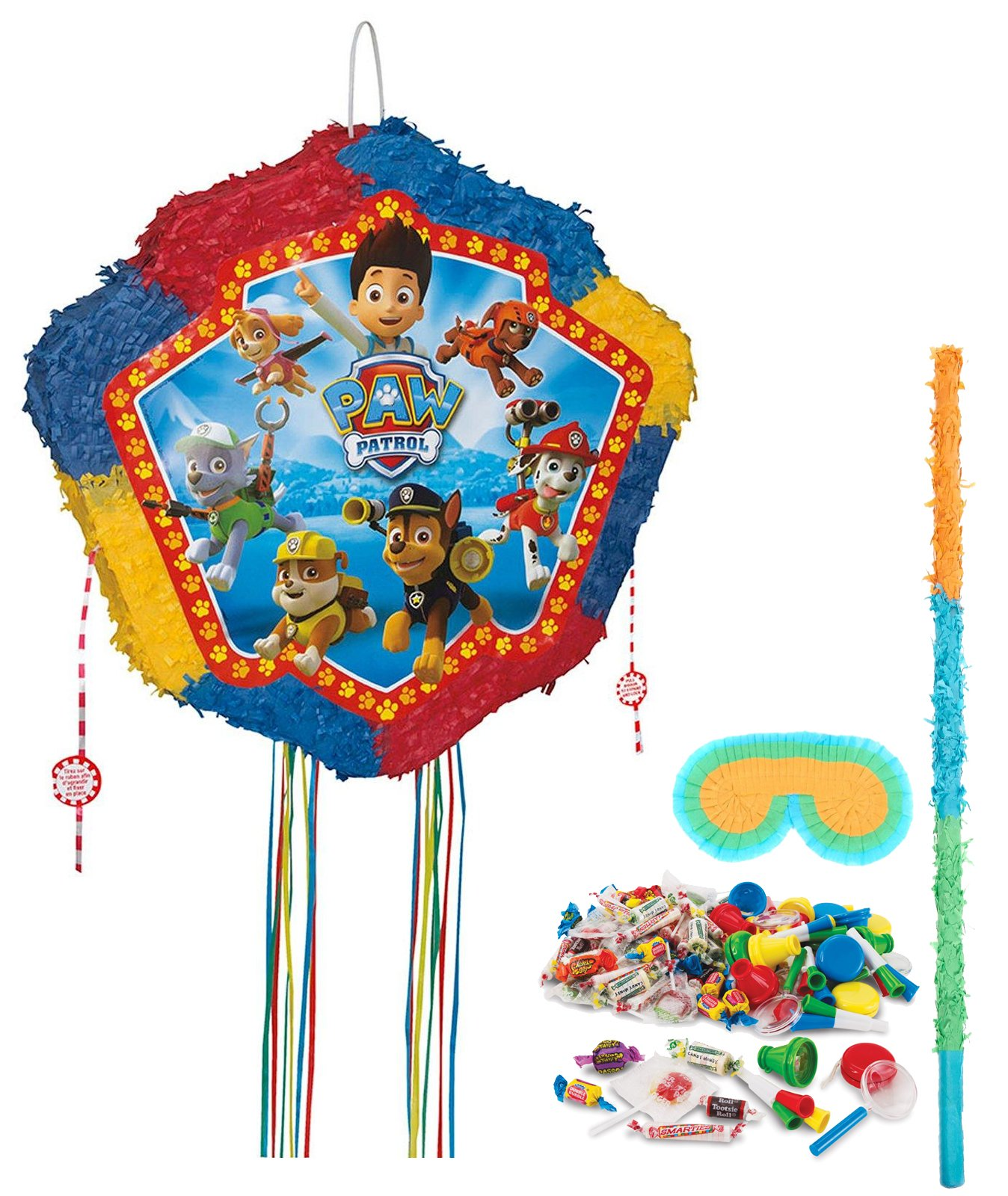 BirthdayExpress Paw Patrol Party Supplies - Pinata Kit by BirthdayExpress