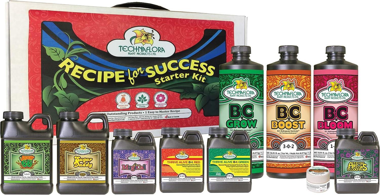 Technaflora Recipe For Success Kit Recipe for Success Starter Kit 6 Cs