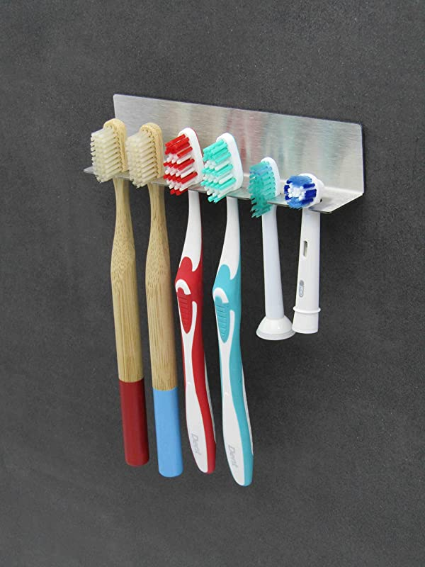 3 in 1 Zahnpasta Halter St/änder,Silber YUIP Zahnb/ürstenhalter,zahnb/ürstenhalterung,Edelstahl Zahnb/ürstenhalter,Wandmontierter Zahnb/ürstenhalter aus Edelstahl,Becherhalter