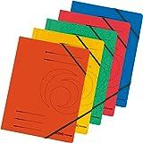 Herlitz 10902872 Pack de 5 chemises A4 Colorspan (5 coloris différents) (Import Allemagne)