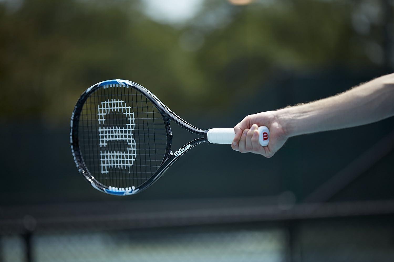 Wilson Tennisschl/äger Damen//Herren All Courter Tour Slam Lite Freizeitspieler Blau//Schwarz