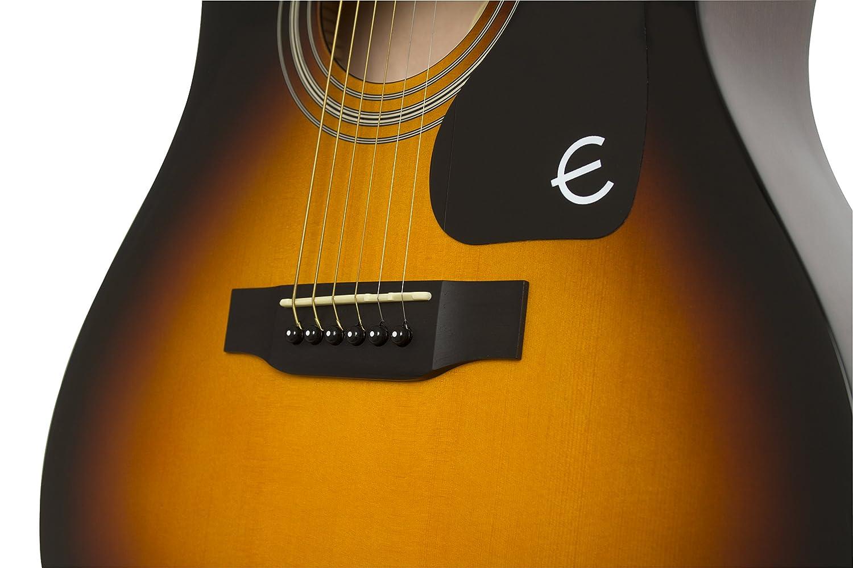 Epiphone FT-100CE - Guitarra electro acústica, color bronce: Amazon.es: Instrumentos musicales