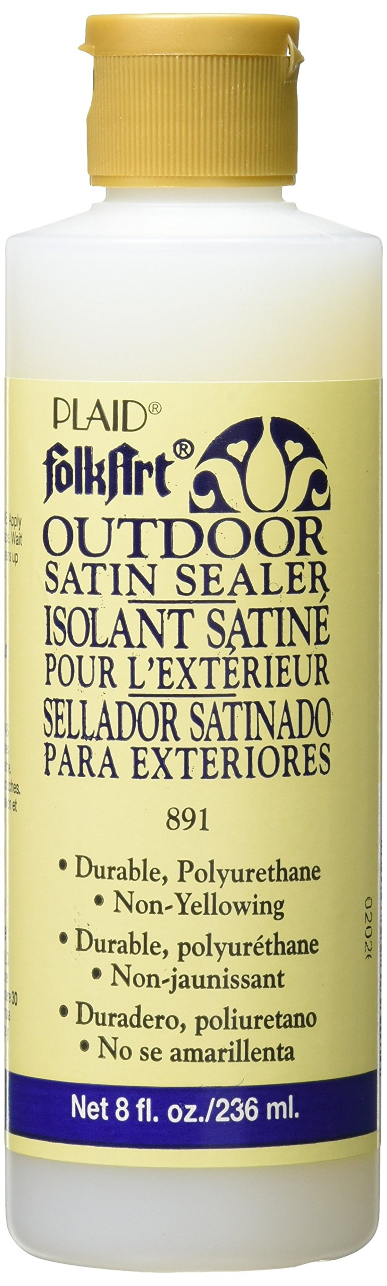 FolkArt Outdoor Sealer (8 Ounce), 891 Satin Finish