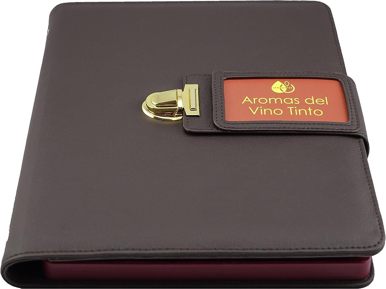 Kit Aromas del Vino Tinto - 24 Aromas (incl. Rueda de los Aromas del Vino): Amazon.es: Hogar