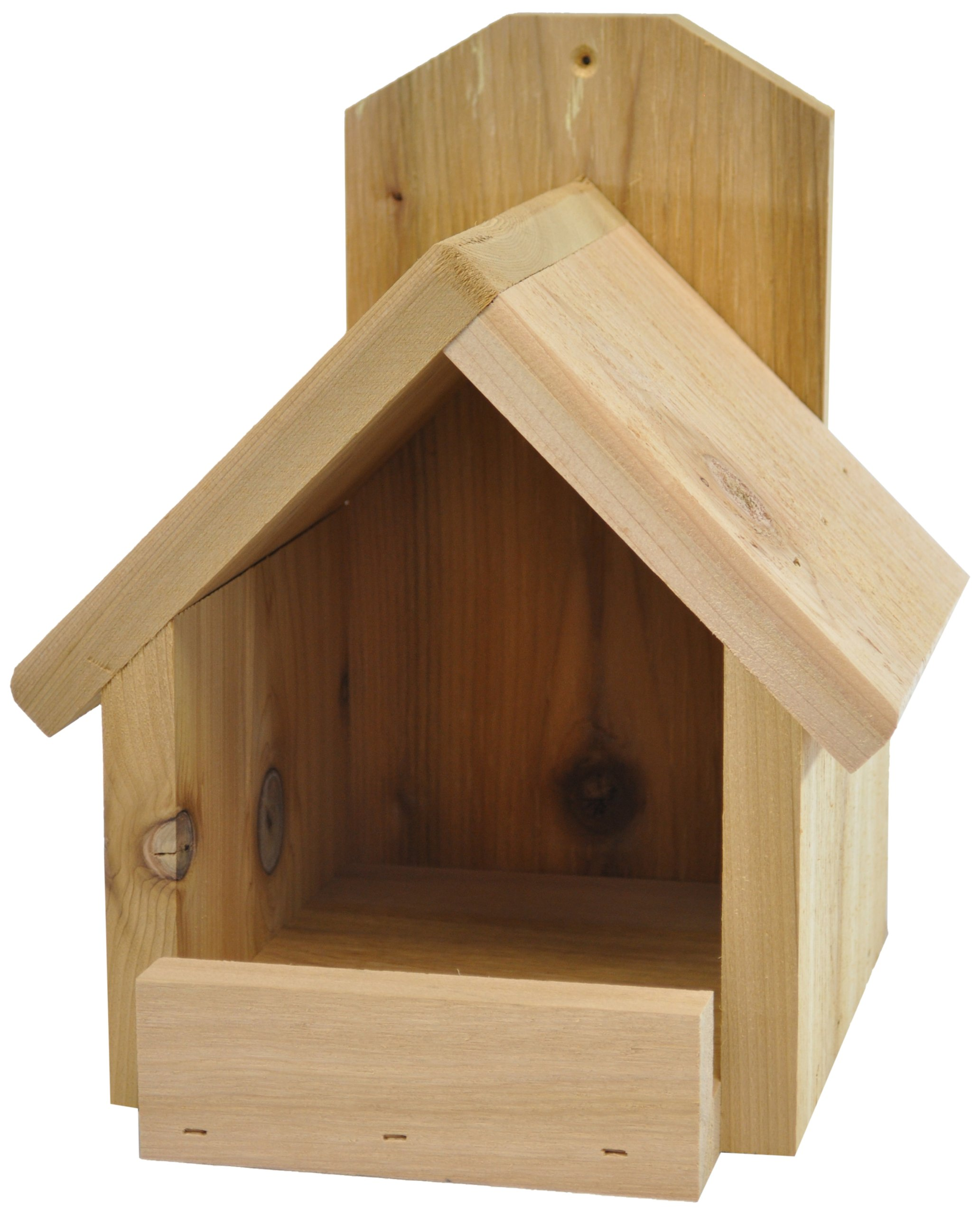Backyard Boys Woodworking BBW81 Cardinal Nest Box by Backyard Boys Woodworking