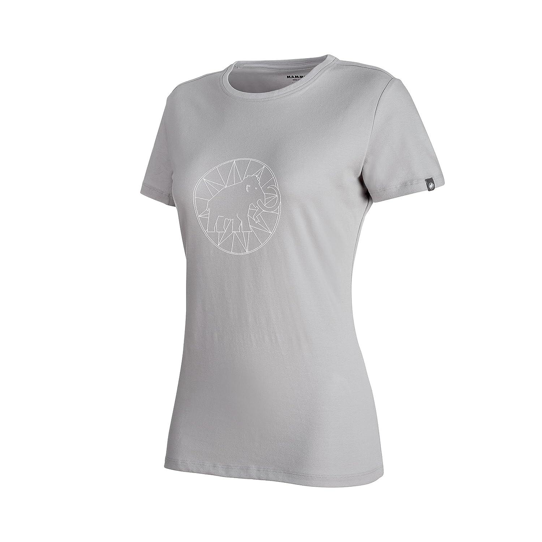 TALLA XS. Mammut Logo Camiseta, Mujer