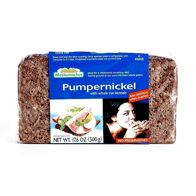 is pumpernickel bread ok for high cholesterol diet