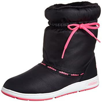 hot sale online d8346 cea8f adidas Warm Comfort F38604 Bottes Femme, NoirViolet, Size 6