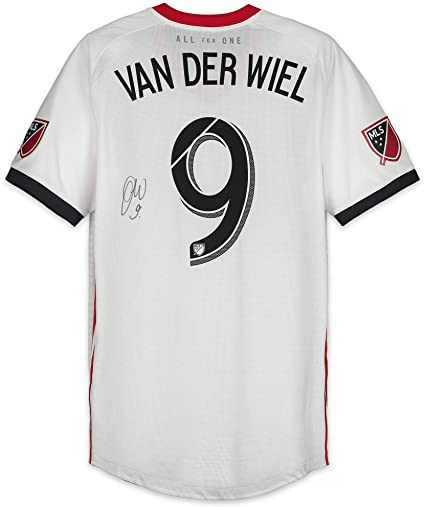 premium selection c1812 1bd61 Gregory van der Weil Toronto FC Autographed Match-Used White ...