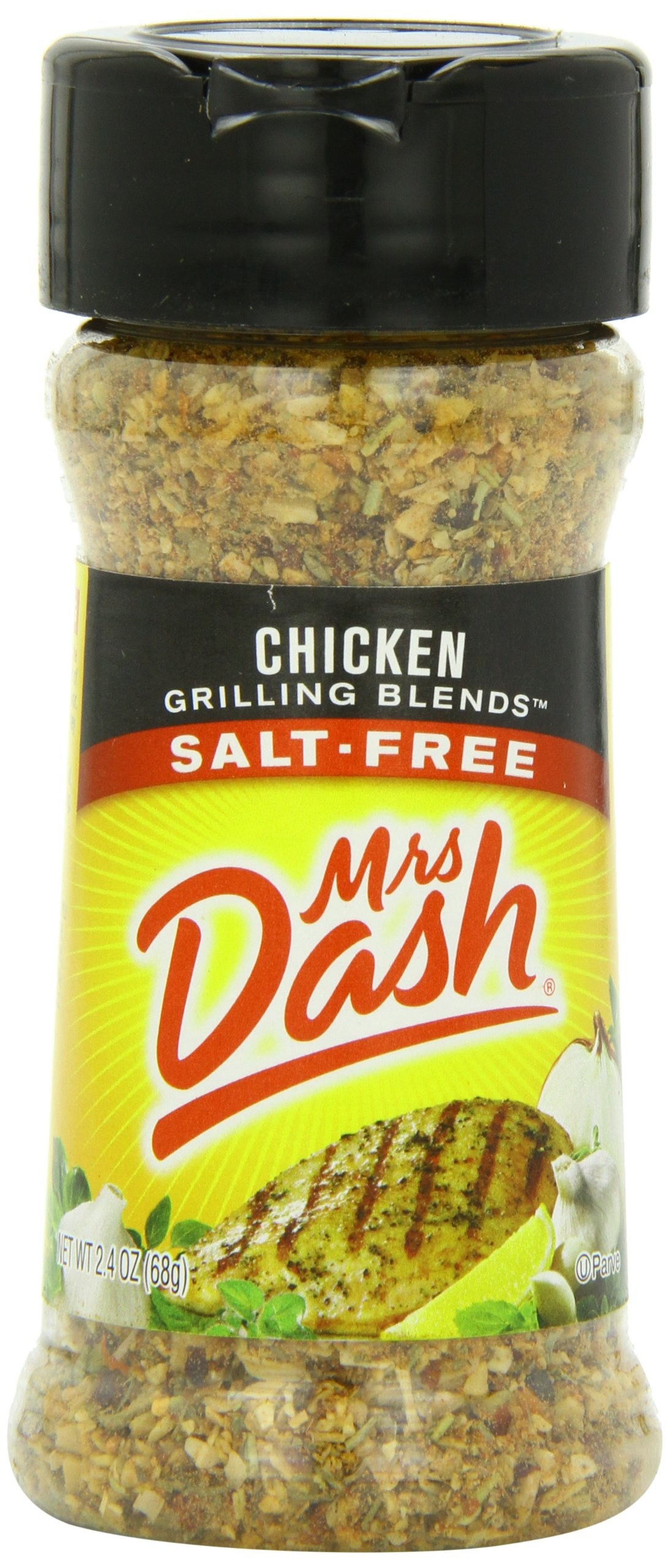 Mrs. Dash Grilling Blend, Chicken, 2.4 Ounce (Pack of 12) by Mrs. Dash