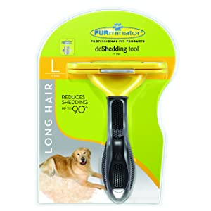 5. FURminator DeShedding Tool for Dogs (Large Long Hair Dogs)