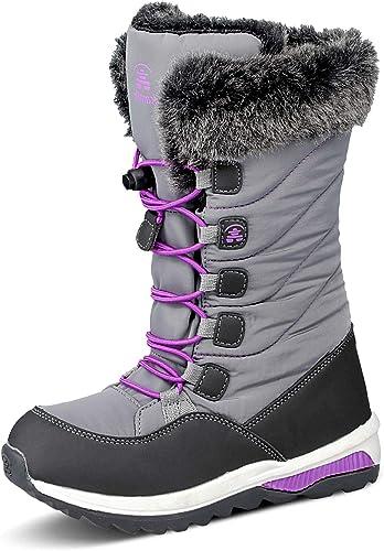 Kamik Kids Prairie Boot, Charcoal, Size