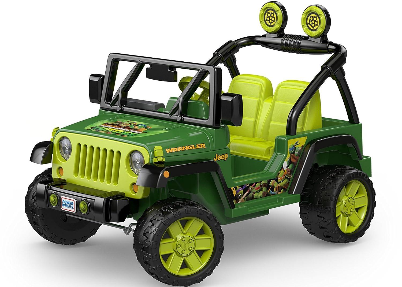 Power Wheels Nickelodeon Teenage Mutant Ninja Turtles New Jeep That Looks Like Rober Wrangler Toys Games