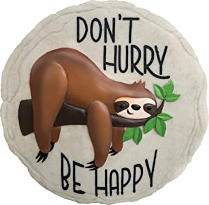 Spoontiques 13216 Sloth Stepping Stone, Multicolor