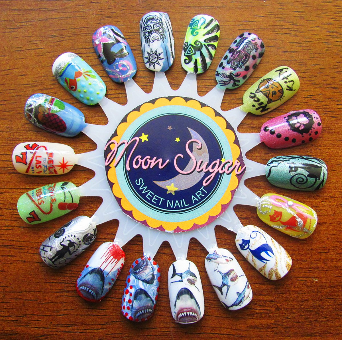 Nail Art Ideas nail art water decal : Amazon.com: Angel Wings Water Slide Nail Art Decals - Salon ...