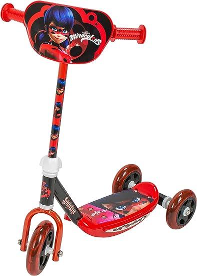 Amazon.com: Patinete con 3 ruedas SAICA 5824 de Ladybug ...