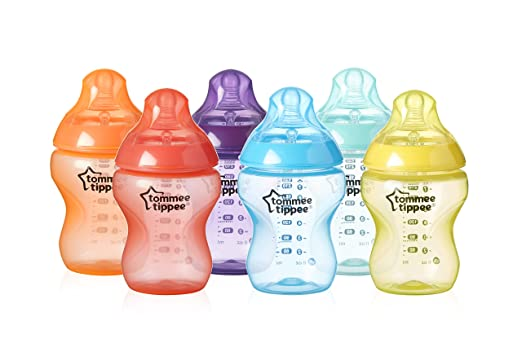 Tommee Tippee Closer to Nature Fiesta Bottle, 9 Ounce, 6 Count