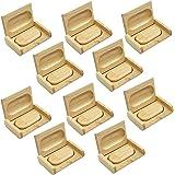 10 Pezzi Chiavetta USB 3.0 da 16GB + 10 Pezzi Scatole di Legno Squisiti Regali di Natale