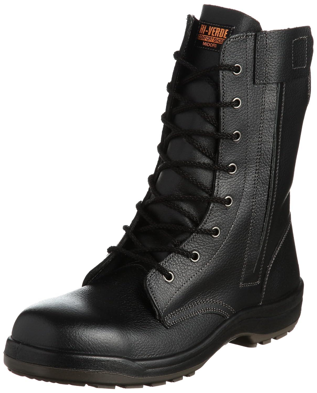 [ミドリ安全] 安全靴 長編上 CF230F オールハトメ B002OXL47E 25.5 cm|ブラック ブラック 25.5 cm
