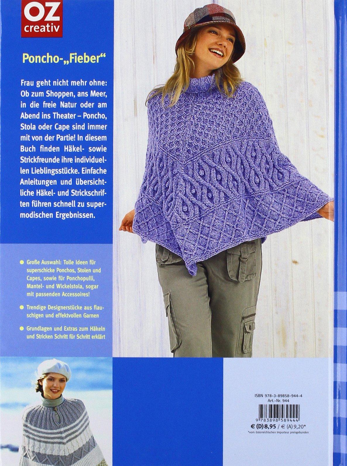 Ponchos & Stolen: Trend-Mode häkeln und stricken rund ums Jahr ...