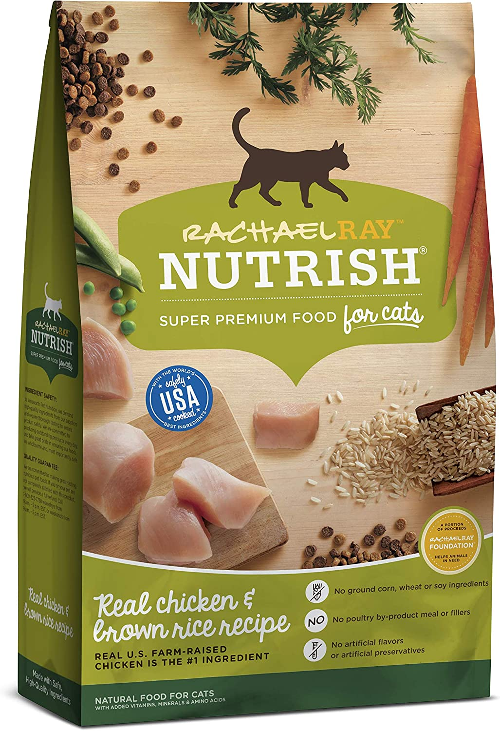 8. Rachael Ray Nutrish Natural Dry Cat Food