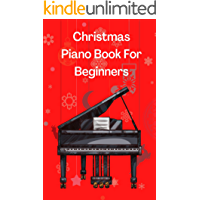 Christmas Piano Book For Beginners: Christmas Piano Sheet music book book cover