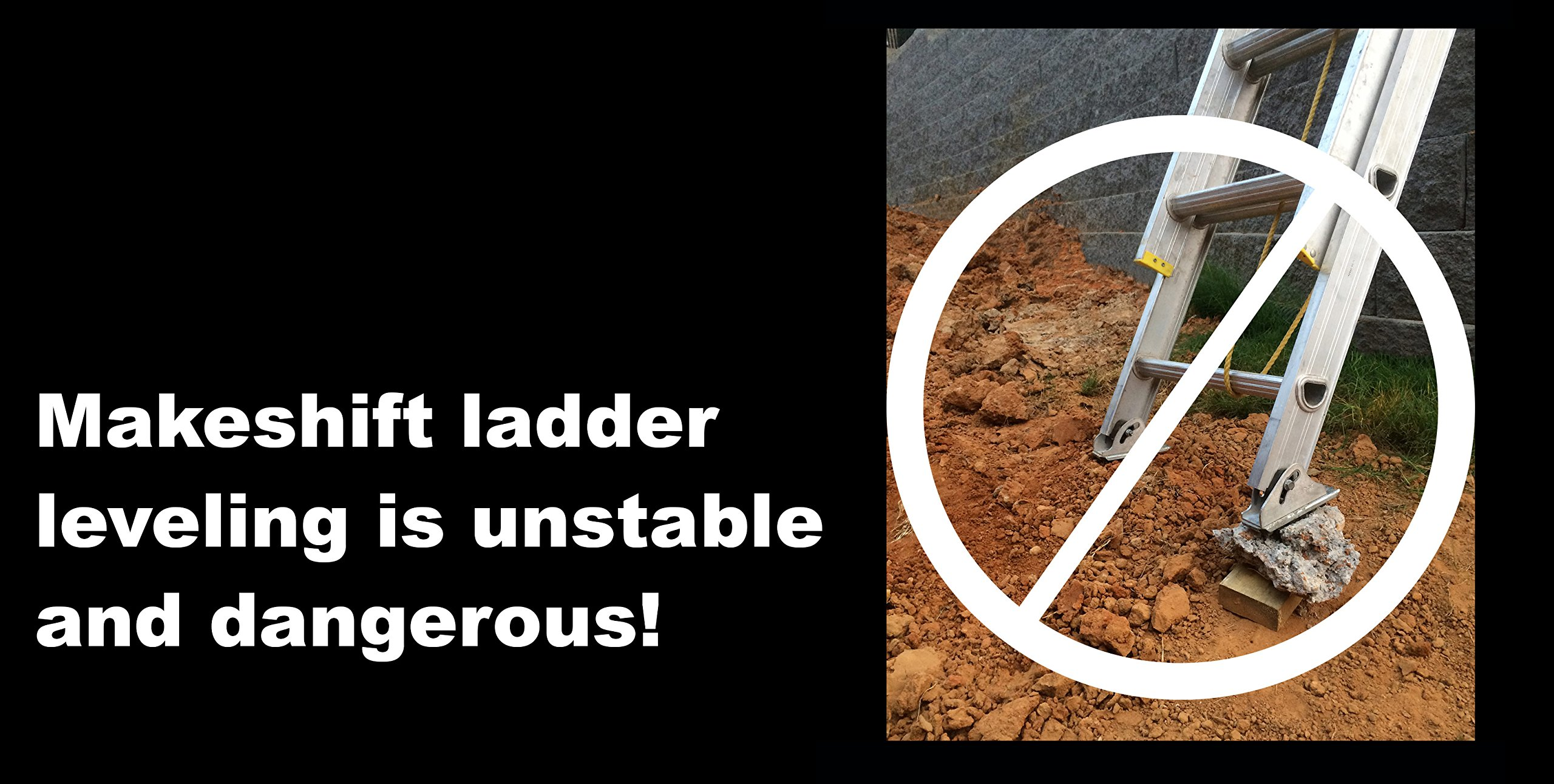 The Levelizer: Fast, Safe, & Easy Ladder Leveling by Advance Inventions LLC (Image #6)