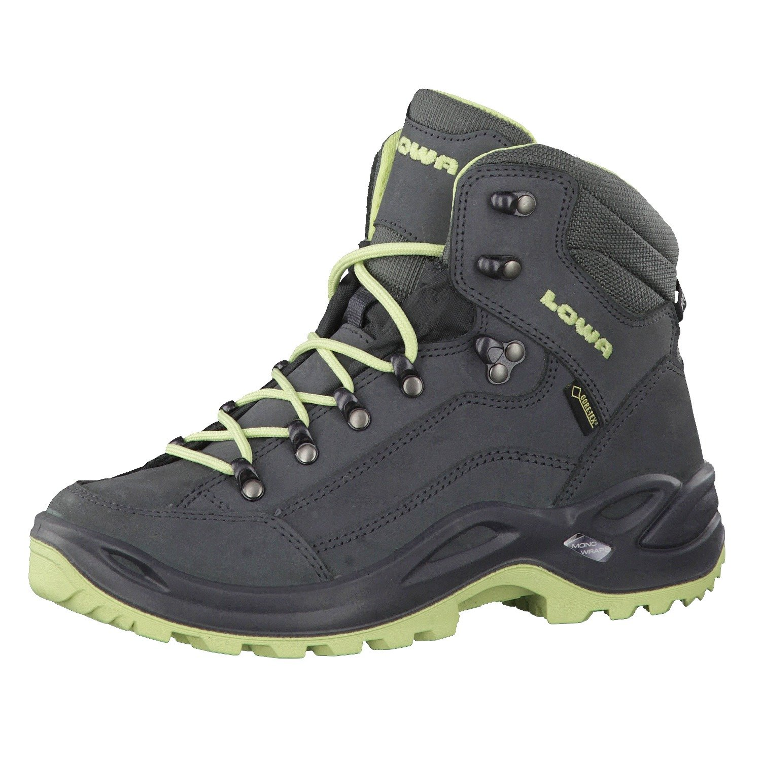 LOWA Renegade GTX Mid Women Outdoor Schuhe grau-mint - 41 AvUOl