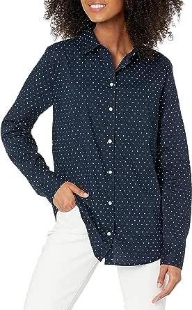 Amazon Essentials Women's Long-Sleeve Shirt