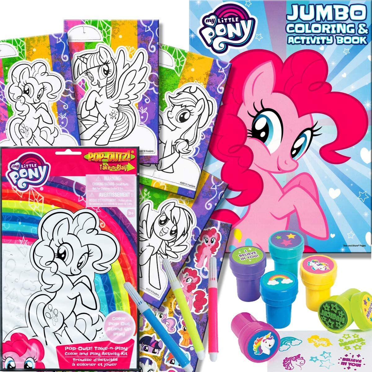 - Amazon.com: My Little Pony Coloring Activity Book With Take And
