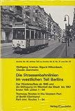 Die Strassenbahnlinien im westlichen Teil Berlins Teil 1 : Linien 1-54
