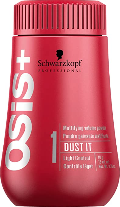 Schwarzkopf OSiS Dust It Mattifying Powder, 0.35 oz/10g Compact Powder at amazon