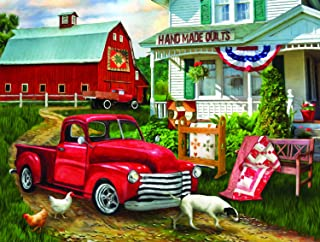 product image for Stopping at The Farm 500 pc Jigsaw Puzzle by SUNSOUT INC
