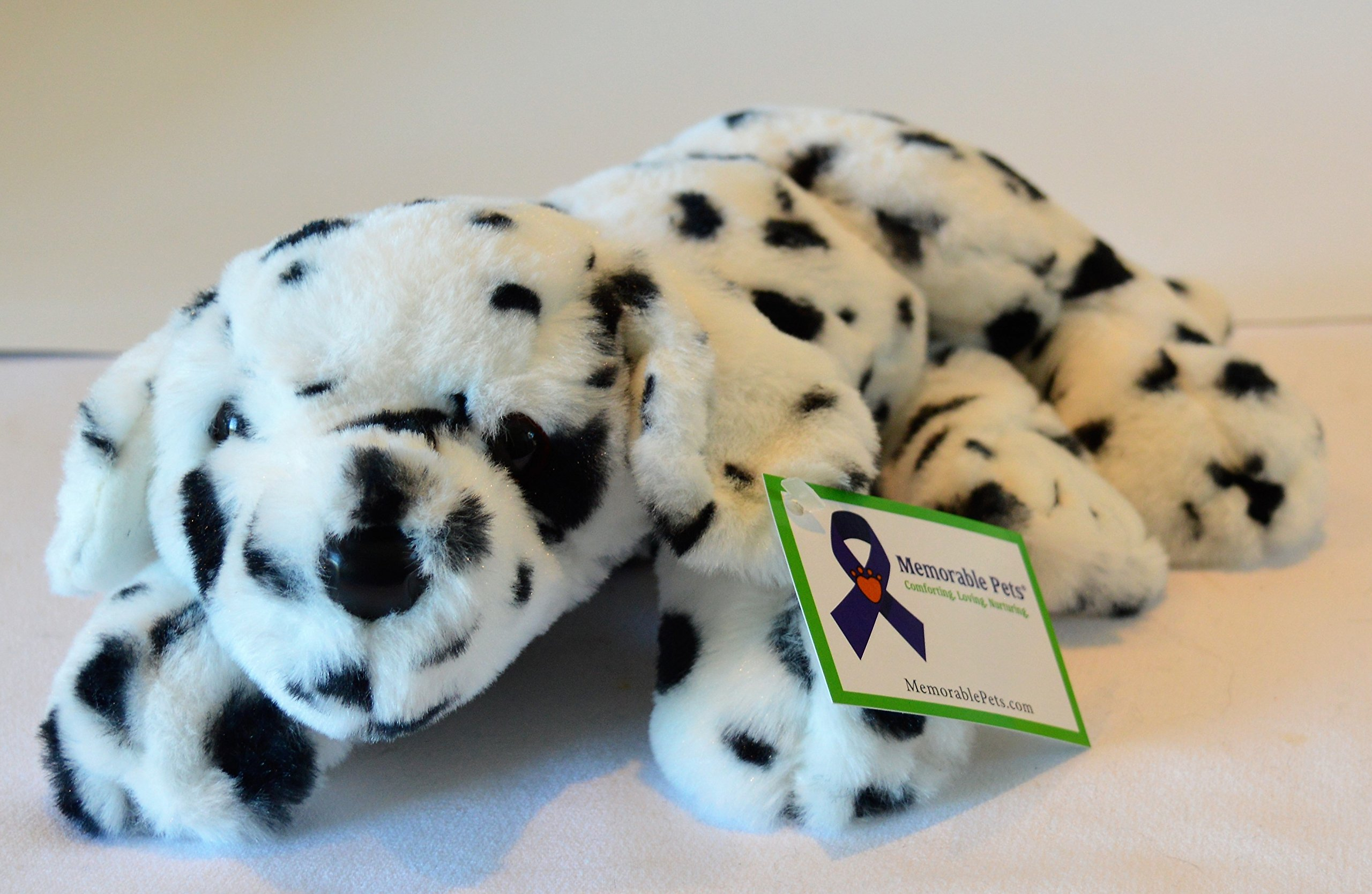 Reclining Dalmatian Puppy - Stuffed Animal Therapy for People with Memory Loss from Aging and Caregivers
