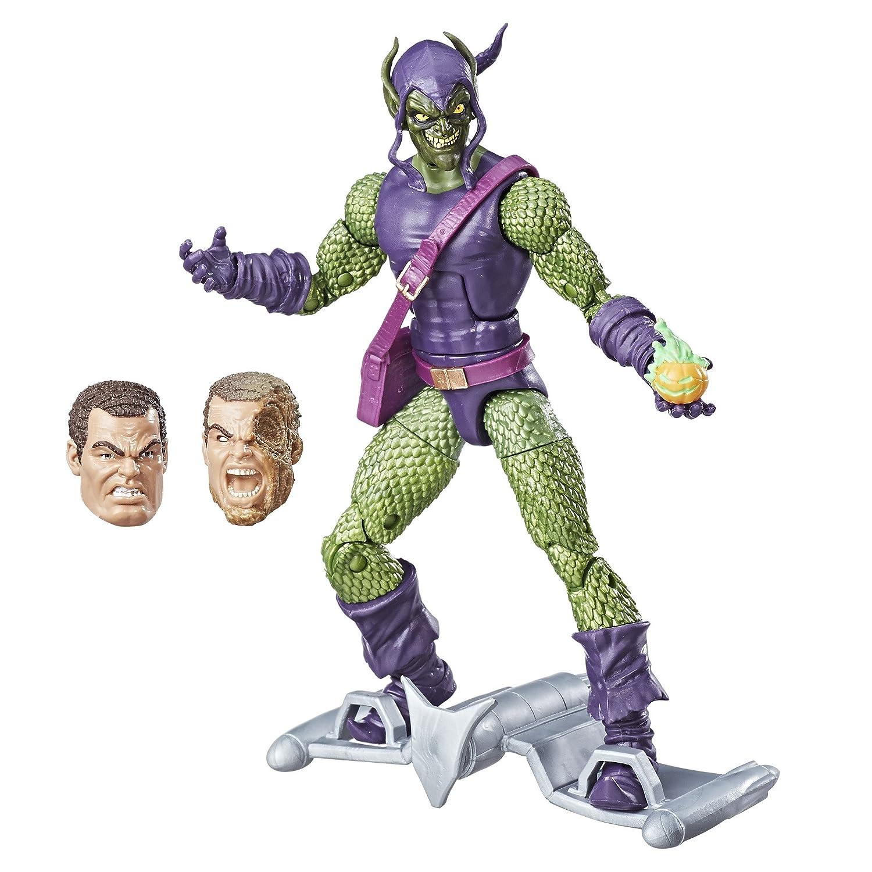 amazon marvel spider man 6 inch legends series green goblin