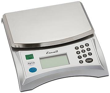 Captivating Escali V136 Pana Large Volume Measuring Scale, 13 Lb/6 Kg