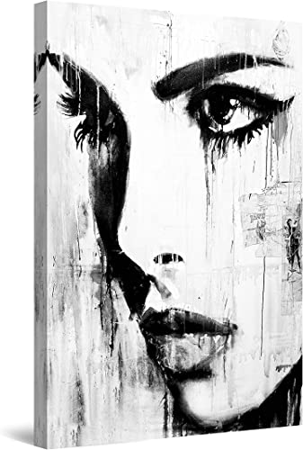 Startonight Canvas Wall Art Black and White Abstract Depth