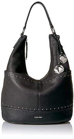 025cd6b786 Amazon.com  Calvin Klein Avery Pebble Hobo Hobo Bag